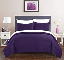 Chic Home Amandla 3 Piece Queen Quilt Set