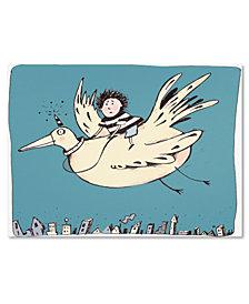 Carla Martell 'Boy on Bird' Canvas Art Print Collection