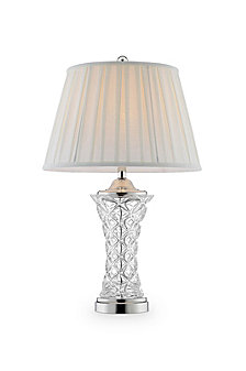 "28.5"" Cordelia Glass Table Lamp"