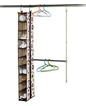 Neatfreak Kid's Hanging Shoe Rack, 10 Pair NeatKids ClosetMAX