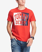 d0c448f28d Tommy Hilfiger Men s Plains Graphic T-Shirt