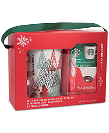Starbucks Latte Mug & Cocoa Gift Set