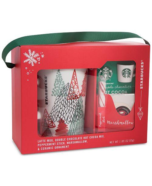 Starbucks Latte Mug Cocoa Gift Set Reviews Gourmet