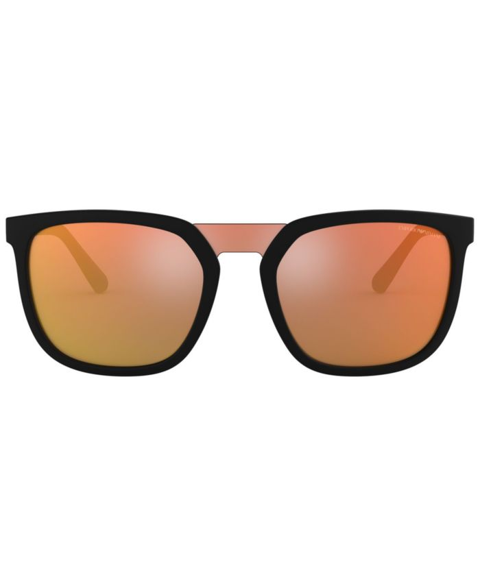 Emporio Armani Sunglasses, EA4123 58 & Reviews - Sunglasses by Sunglass Hut - Men - Macy's