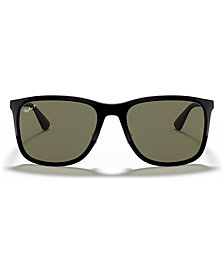 Ray-Ban Polarized Sunglasses, RB4313 58