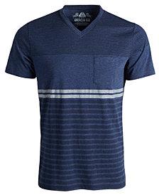 American Rag Men's Striped V-Neck T-Shirt, Created for Macy's