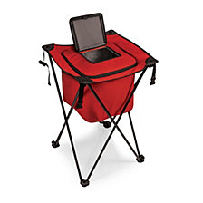 Picnic Time Sidekick Portable Standing Red Beverage Cooler