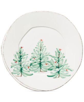 Lastra Christmas Tree Dinner Plate
