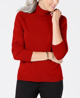 408e90ec4dc Karen Scott Luxsoft Turtleneck Sweater
