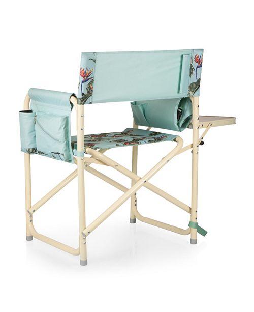 Marvelous Oniva By Outdoor Light Blue Directors Folding Chair Inzonedesignstudio Interior Chair Design Inzonedesignstudiocom