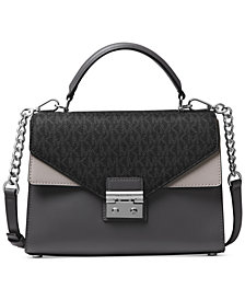 MICHAEL Michael Kors Sloan Medium Top-Handle Satchel