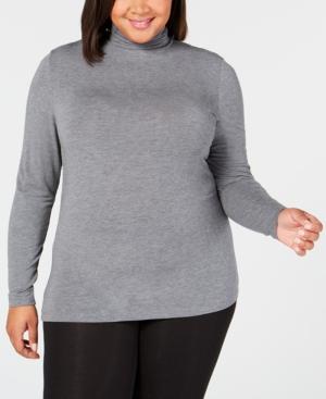Cuddl Duds Plus Size Softwear Stretch Turtleneck