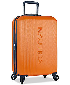 "Nautica Lifeboat 20"" Carry-On Hardside Spinner Suitcase"