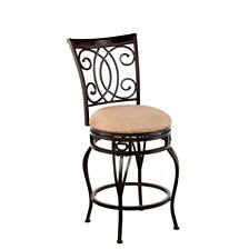 Maguir Swivel Counter Stool, Quick Ship