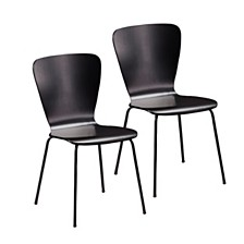 Holly & Martin Cadby 2pc Bentwood Side Chairs