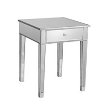 Mirage Mirrored Accent Table, Quick Ship