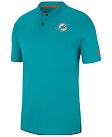 Nike Men's Miami Dolphins Elite Coaches Polo 2018