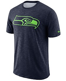 Nike Men's Seattle Seahawks Dri-FIT Cotton Slub On-Field T-Shirt