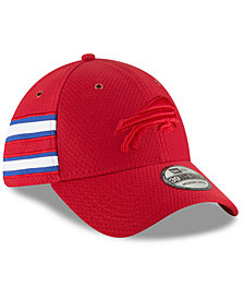 New Era Buffalo Bills Official Color Rush 39THIRTY Stretch Fitted Cap