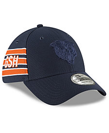 New Era Chicago Bears Official Color Rush 39THIRTY Stretch Fitted Cap