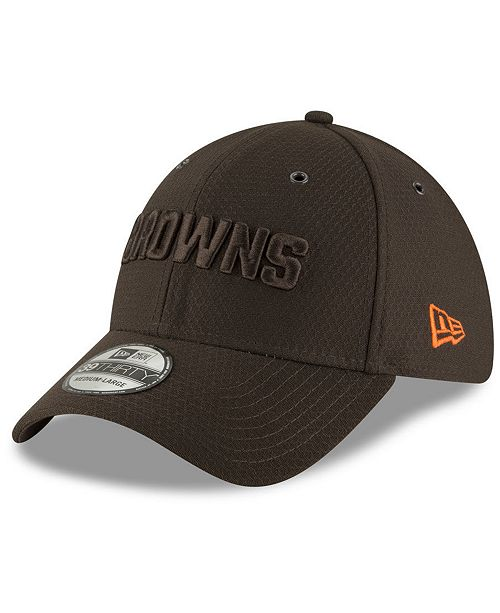 check out 02596 84c43 ... New Era Cleveland Browns Official Color Rush 39THIRTY Stretch Fitted Cap  ...