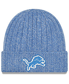 New Era Women's Detroit Lions On Field Knit Hat