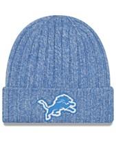 save off 10f99 ea6a5 New Era Women s Detroit Lions On Field Knit Hat