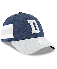 New Era Women's Dallas Cowboys On Field Sideline Home 9FORTY Strapback Cap