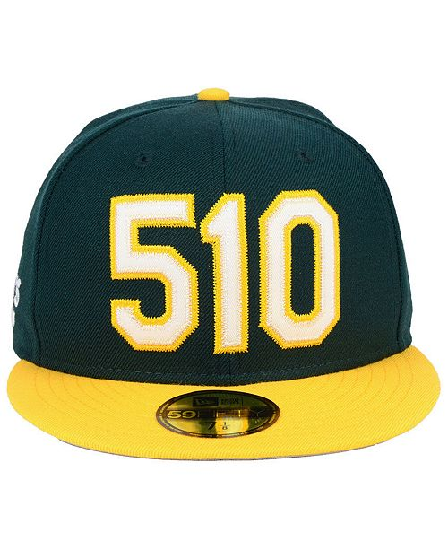 finest selection 4dd07 34f6e ... where to buy new era oakland athletics area code 59fifty fitted cap  sports fan shop by ...