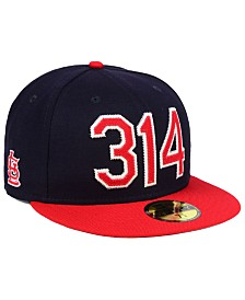 New Era St. Louis Cardinals Area Code 59FIFTY FITTED Cap