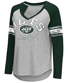 G-III Sports Women's New York Jets Sideline Long Sleeve T-Shirt