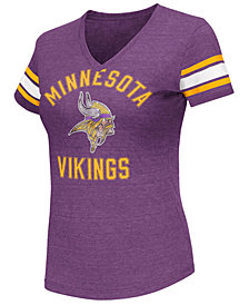 G-III Sports Women's Minnesota Vikings Wildcard Bling T-Shirt