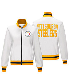 G-III Sports Women's Pittsburgh Steelers Field Goal Track Jacket