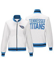 G-III Sports Women's Tennessee Titans Field Goal Track Jacket