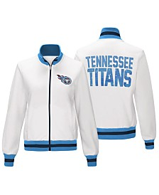 G-III Sports Women's Tennessee Titans Field Goal Track Jacket