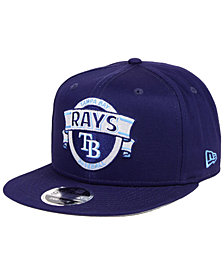 New Era Tampa Bay Rays Banner 9FIFTY Snapback Cap