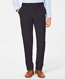 Lauren Ralph Lauren Men's Classic/Regular Fit Corduroy Double Reverse Pleated Dress Pants