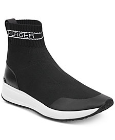 Tommy Hilfiger Reco Slip-On Sock Sneakers