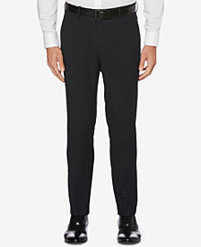 Perry Ellis Men's Extra Slim Fit Plaid Pants