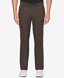 Perry Ellis Men's Slim-Fit Textured Pants
