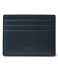 Michael Kors Men's Henry Leather Tall Card Case
