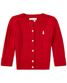Polo Ralph Lauren Baby Girls Cotton Cardigan