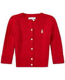 Polo Ralph Lauren Baby Girls Cotton Cardigan