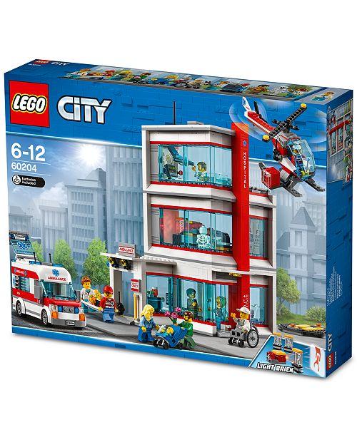 LEGO® LEGO® City Hospital 60204 - Home - Macy's