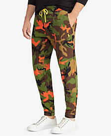 Polo Ralph Lauren Men's Big & Tall Camouflage Jogger Pants