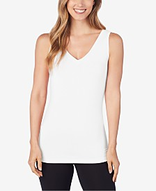 Cuddl Duds Softwear Reversible Stretch Tank Top