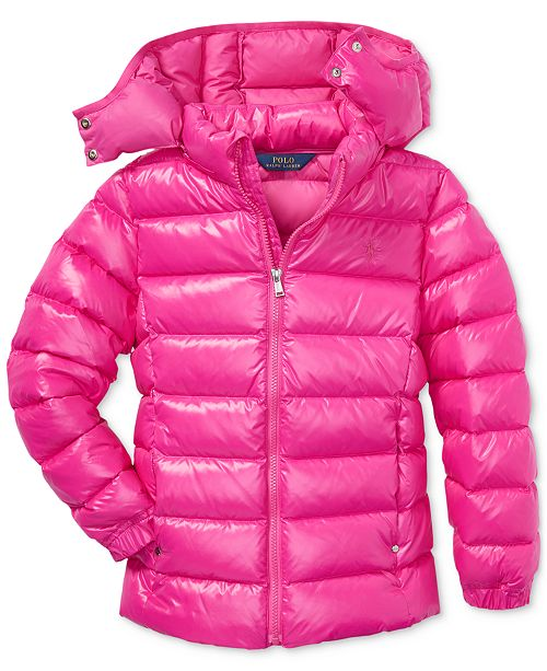 9ba923f6e Polo Ralph Lauren Big Girls Down Jacket   Reviews - Coats   Jackets ...