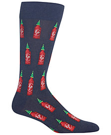 Hot Sox Men's Hot Sauce Crew Socks