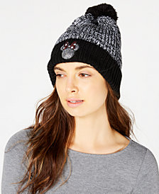 Concept One Sequined Minnie Mouse Marled Beanie