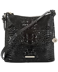 Katie Melbourne Embossed Leather Crossbody
